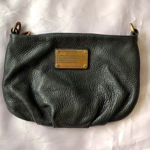 Marc By Marc Jacobs Black Pebble Leather Bag
